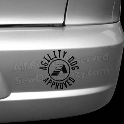Agility Dog Approved Decal