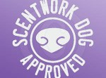 Scent work Dog Approved Decal