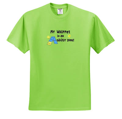 Agility Whippet T-Shirt