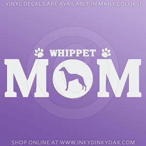 Whippet Mom Decal