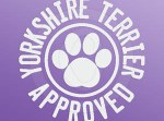 Yorkshire Terrier Approved Decal