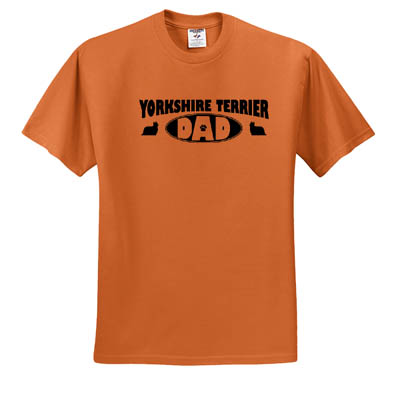 Yorkie Dad T-Shirt