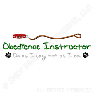 Obedience Instructor Shirt