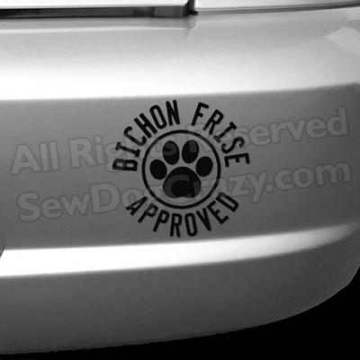 Bichon Frise Approved Bumper Stickers