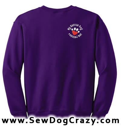 Rescue Dog Sweatshirt