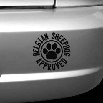 Belgian Sheepdog Stickers
