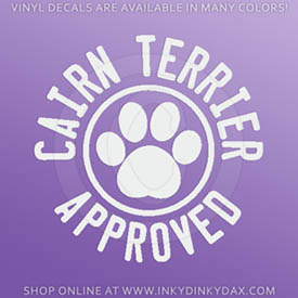 Cairn Terrier Stickers