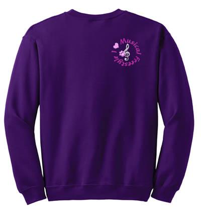 Canine Musical Freestyle Sweatshirt