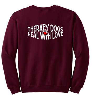 Therapy Dog Sweatshirt