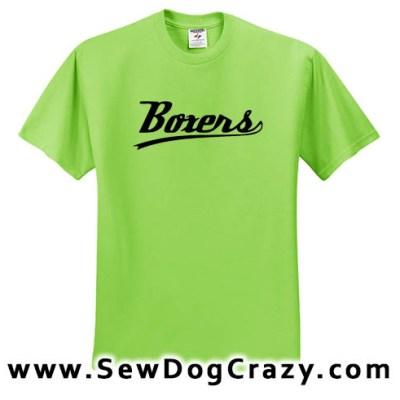 Boxer dog Baseball Tees