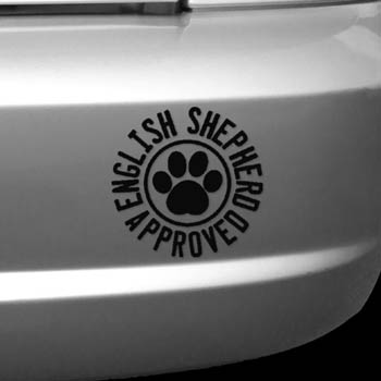 English Shepherd Decal