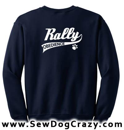 Rally Obedience Sweatshirts