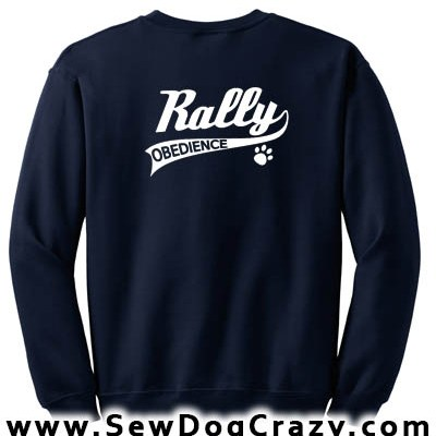 Rally Obedience Sweatshirts