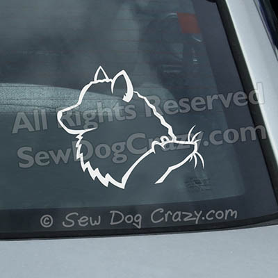 American Eskimo Dog Barn Hunt Decals
