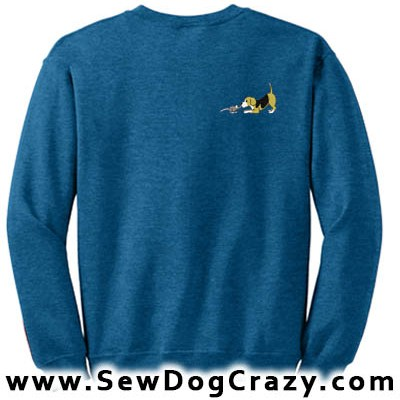 Cartoon Beagle and Rat Sweatshirt