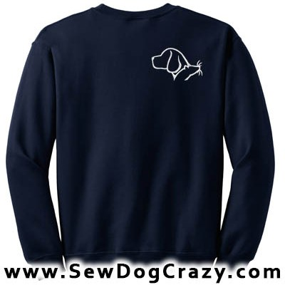 Barn Hunt Beagle Sweatshirt