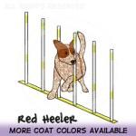 Red Heeler Agility TShirts