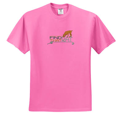 Barn Hunt Embroidered T-Shirt