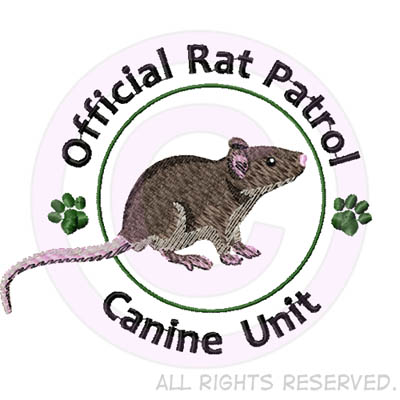 Official Rat Patrol Embroidered Shirts