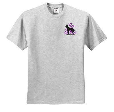 Embroidered Malinois T-shirt