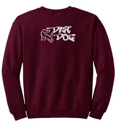 Embroidered Disc Dog Sweatshirt