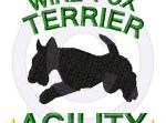 Wire Fox Terrier Agility Embroidery