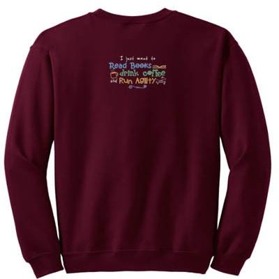 Embroidered Dog Agility Sweatshirt