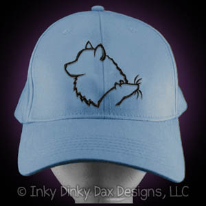 American Eskimo Dog Barn Hunt Hat