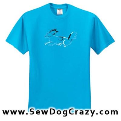 Papillon Dog Sports Tshirt