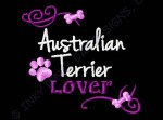 Australian Terrier Embroidery