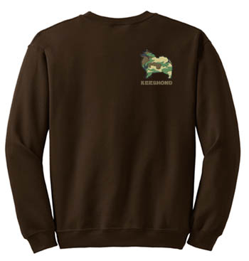 Embroidered Keeshond Sweatshirt