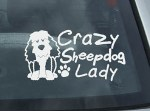Old English Sheepdog Stickers