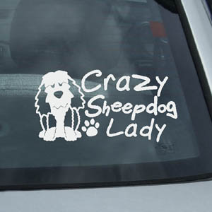 Old English Sheepdog Stickers
