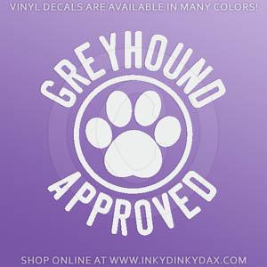 Greyhound Approved Decals