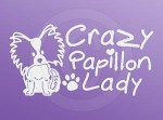 Crazy Papillon Lady Decals