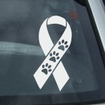 Three Legged Dogs Decal Tripaw