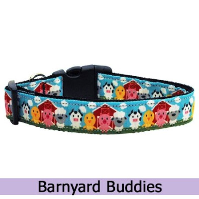 Barnyard Buddies Dog Collar