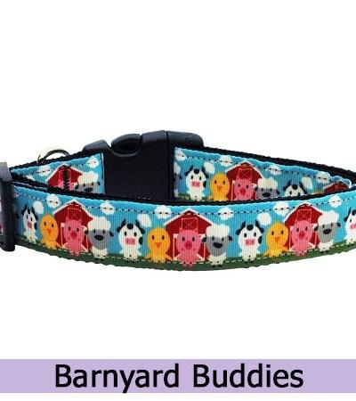 Barnyard Buddies Dog Collar