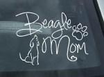 Beagle Mom Decals