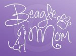 Beagle Mom Decal