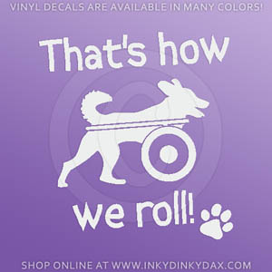 Tripaw Decals