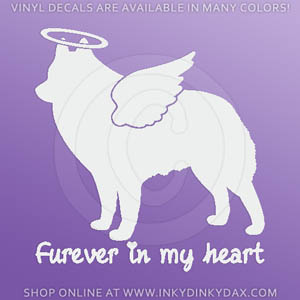 Angel Schipperke Sticker