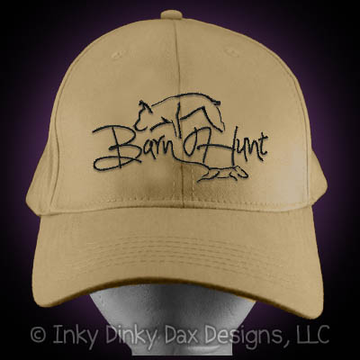 Beautiful Barn Hunt Hat