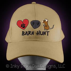 Barn Hunt Hat