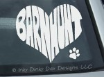 Barn Hunt Decals