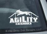 Catahoula Agility Stickers