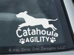 Agility Catahoula Decal