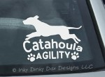 Agility Catahoula Decal