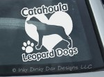 Love Catahoula Leopard Dogs Sticker