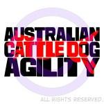 Cattle Dog Agility Shirts